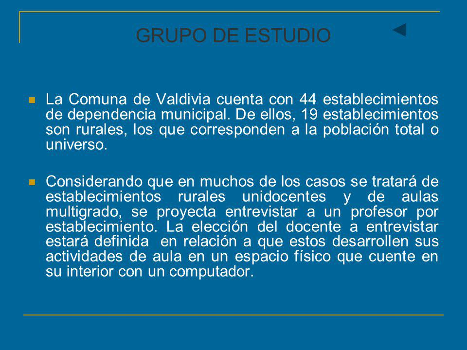 GRUPO DE ESTUDIO