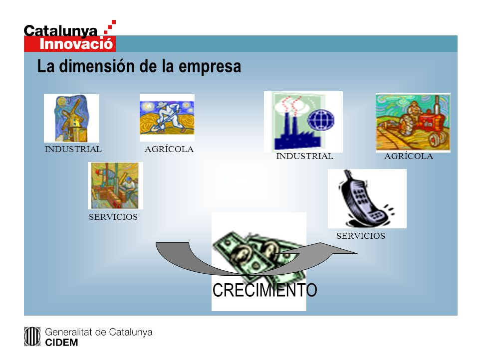 La dimensión de la empresa