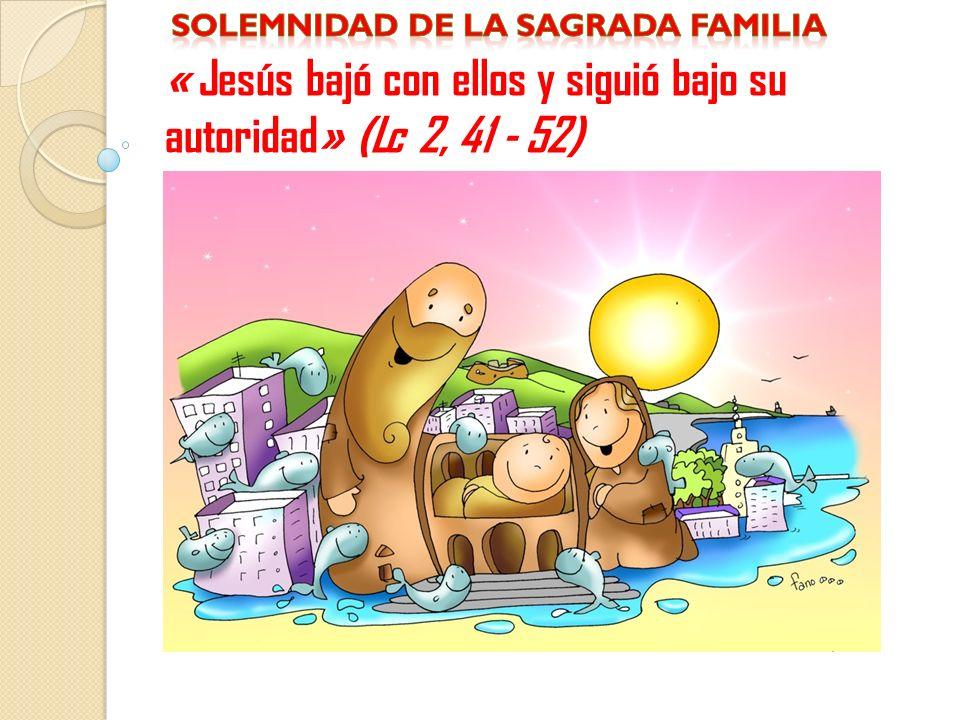 Solemnidad de la sagrada familia