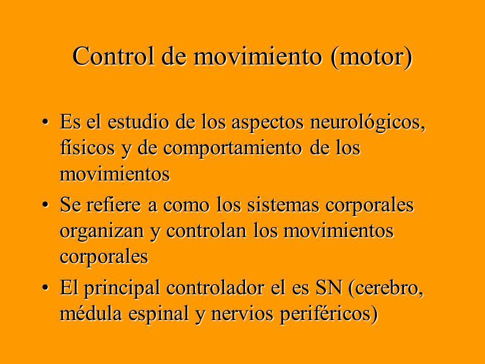 Control de movimiento (motor)