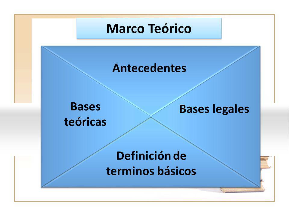 Definición de terminos básicos