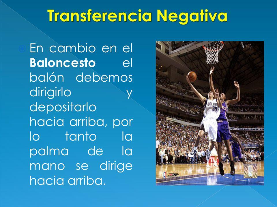 Transferencia Negativa
