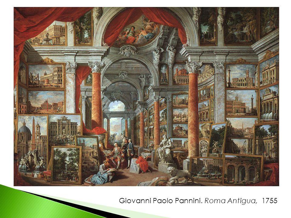 Giovanni Paolo Pannini. Roma Antigua, 1755