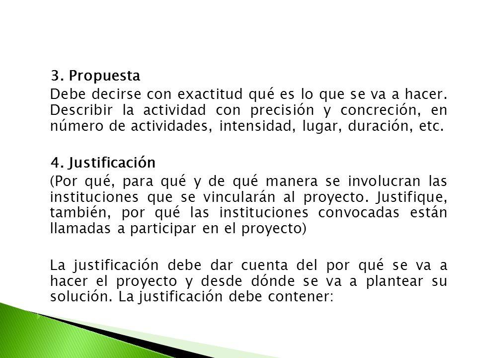 3. Propuesta