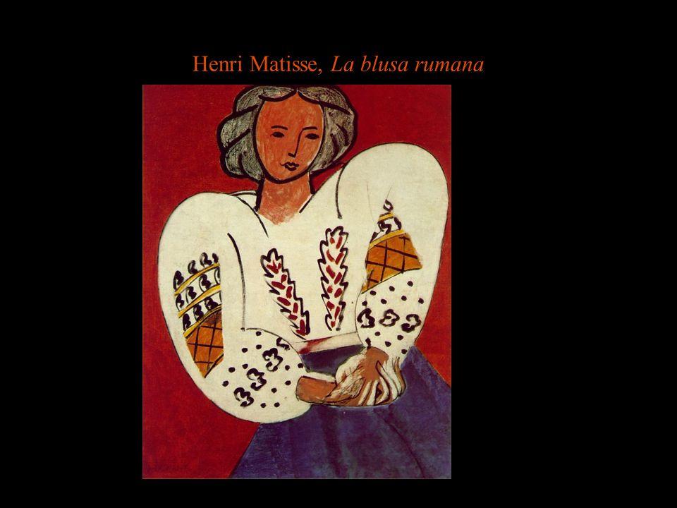 Henri Matisse, La blusa rumana