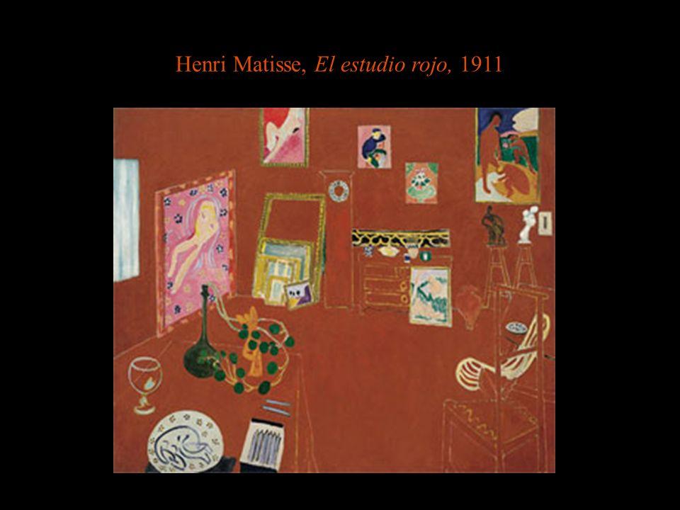 Henri Matisse, El estudio rojo, 1911