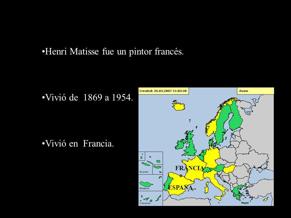 Henri Matisse fue un pintor francés.