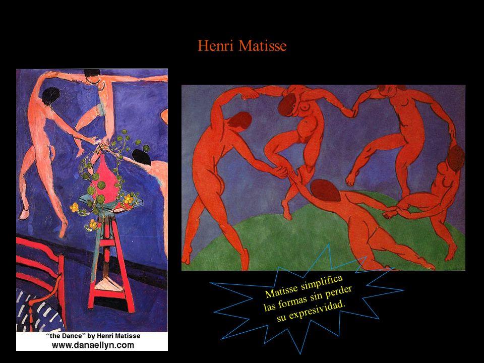Henri Matisse Matisse simplifica las formas sin perder