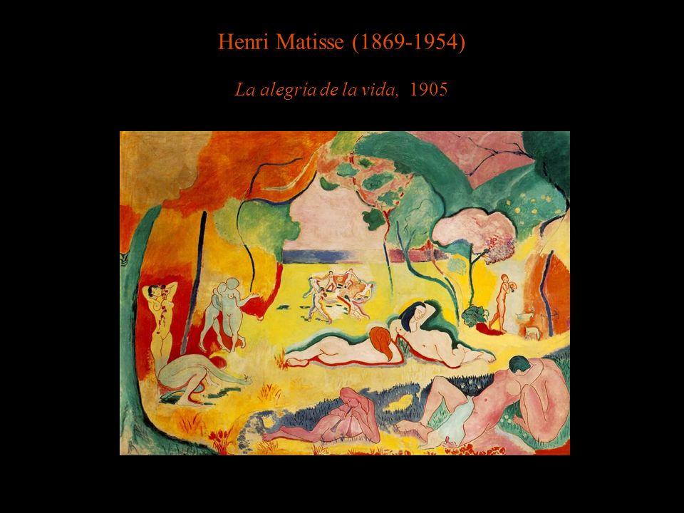 Henri Matisse (1869-1954) La alegría de la vida, 1905