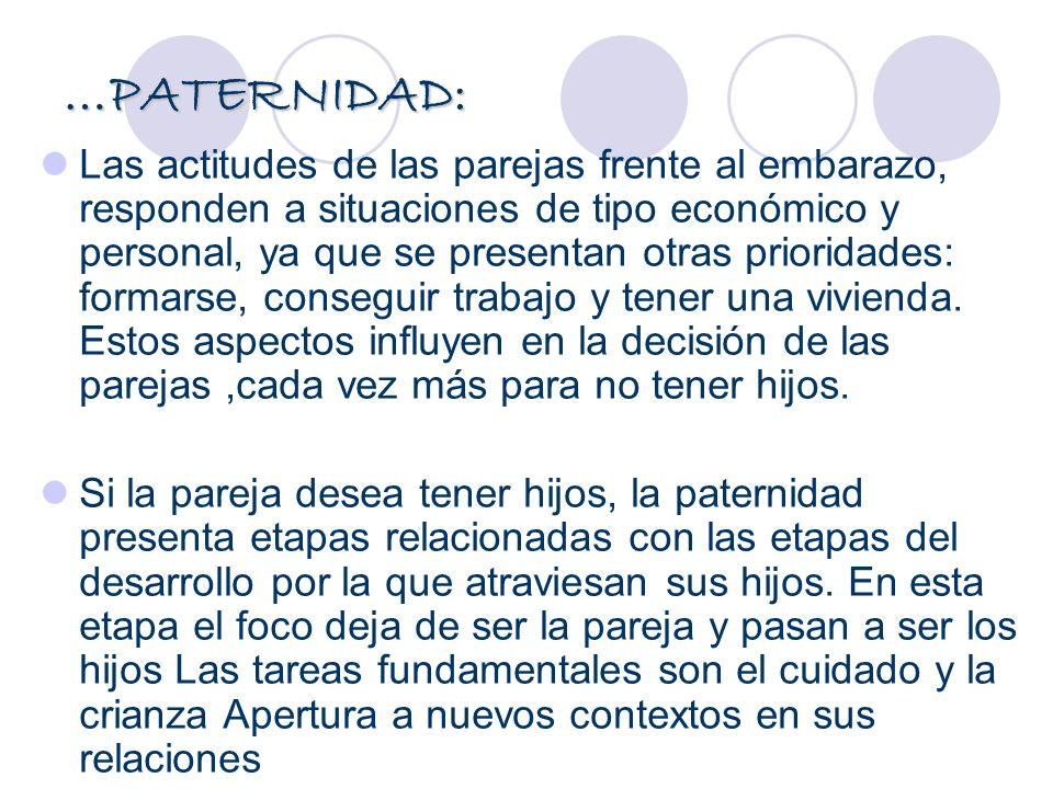 …PATERNIDAD: