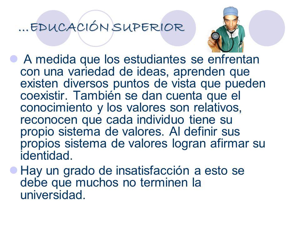 …EDUCACIÓN SUPERIOR