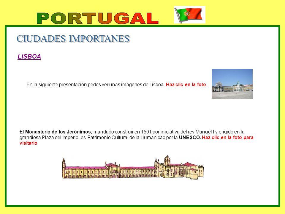 PORTUGAL CIUDADES IMPORTANES LISBOA