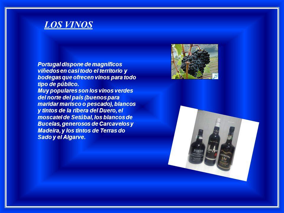 LOS VINOS Portugal dispone de magníficos viñedos en casi todo el territorio y bodegas que ofrecen vinos para todo tipo de público.
