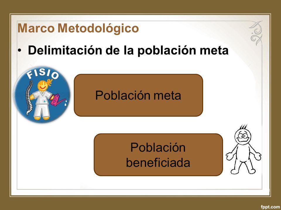 Población beneficiada