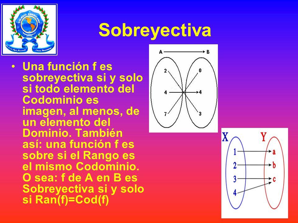Sobreyectiva