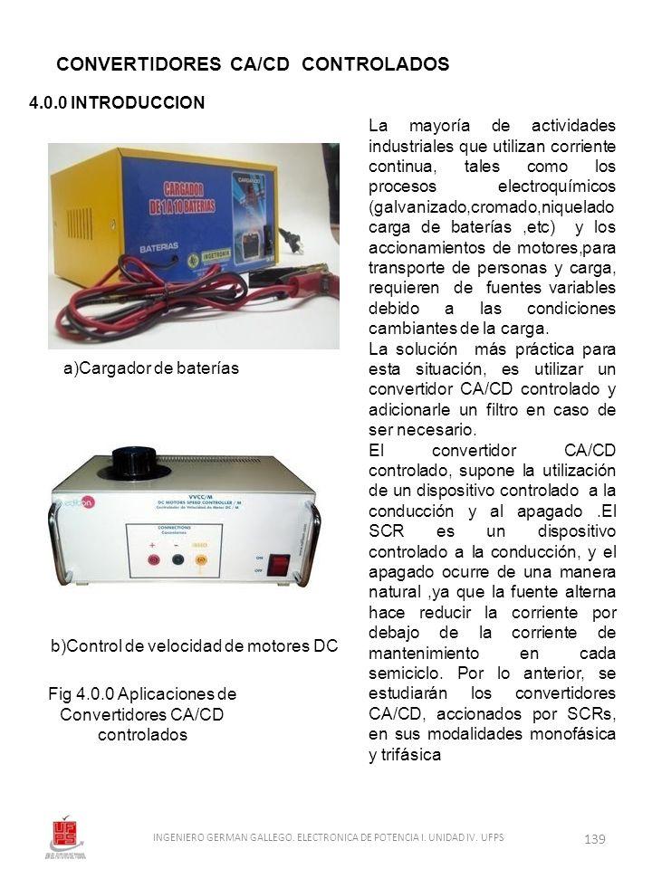 CONVERTIDORES CA/CD CONTROLADOS