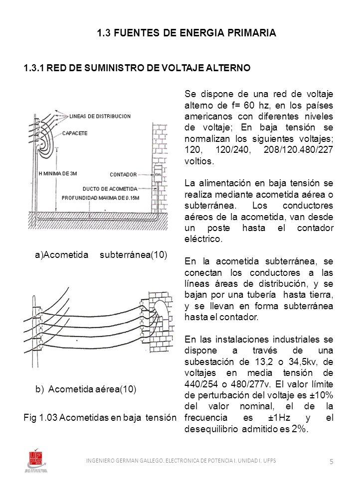 1.3 FUENTES DE ENERGIA PRIMARIA