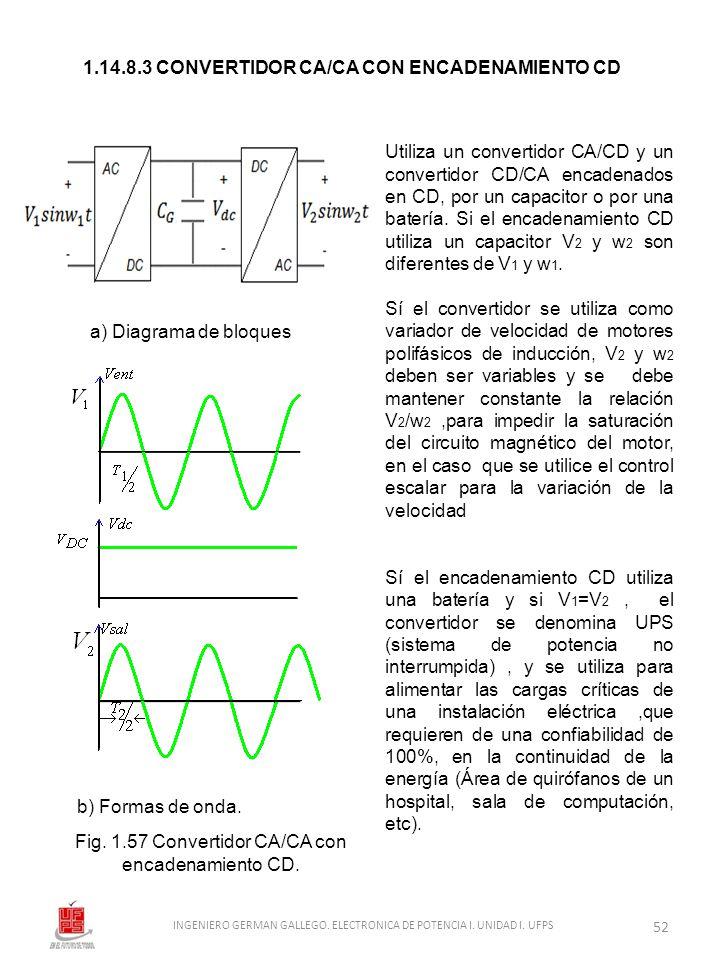 1.14.8.3 CONVERTIDOR CA/CA CON ENCADENAMIENTO CD