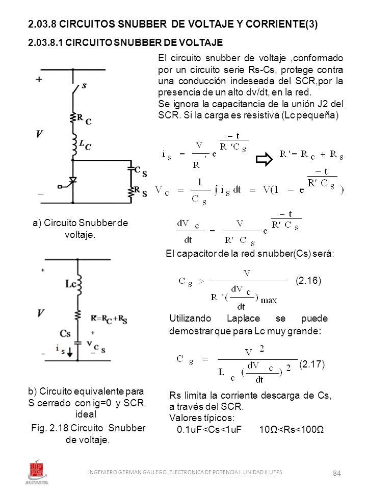 2.03.8 CIRCUITOS SNUBBER DE VOLTAJE Y CORRIENTE(3)