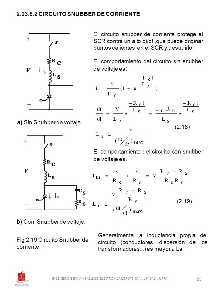 Im 2.03.8.2 CIRCUITO SNUBBER DE CORRIENTE