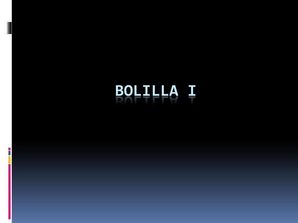 Bolilla I