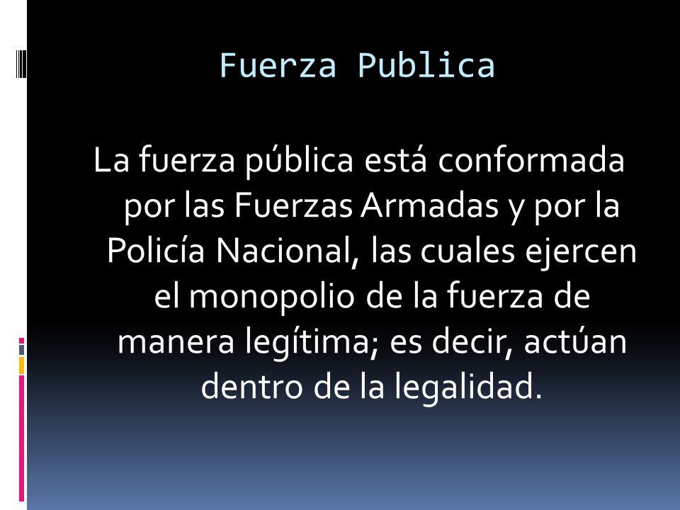 Fuerza Publica