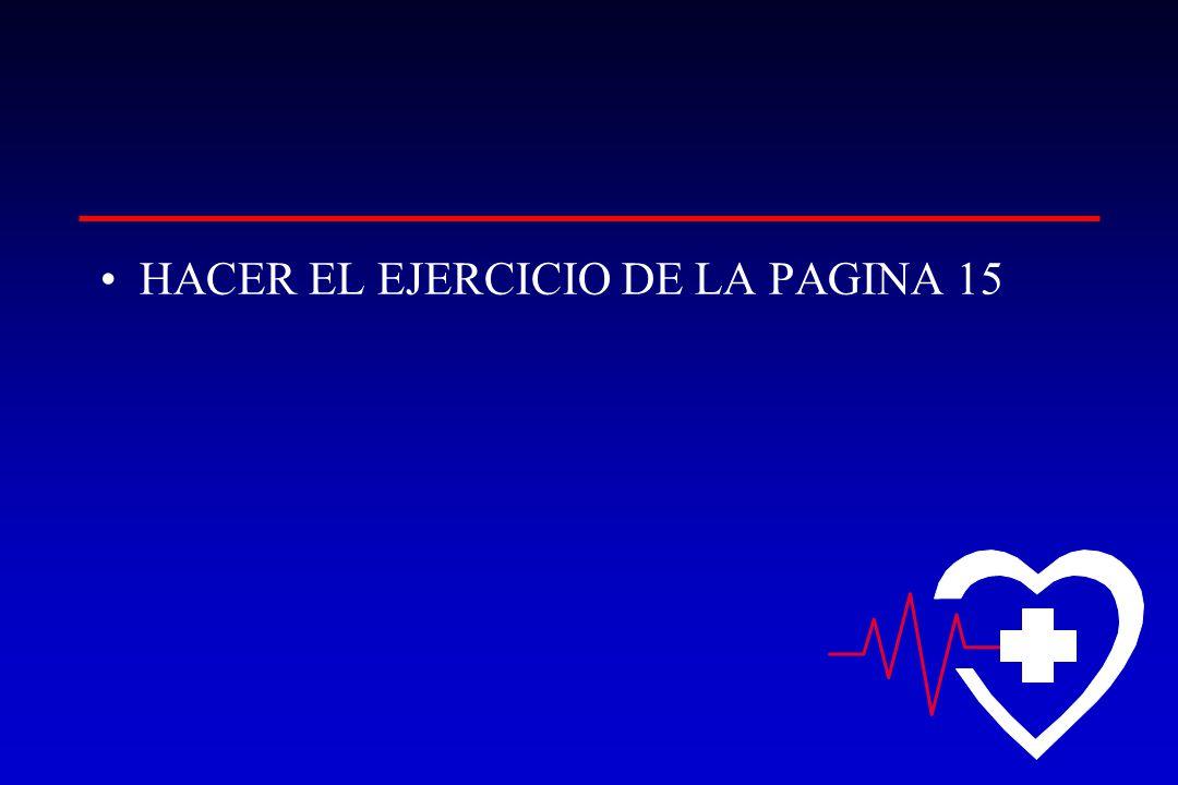 HACER EL EJERCICIO DE LA PAGINA 15