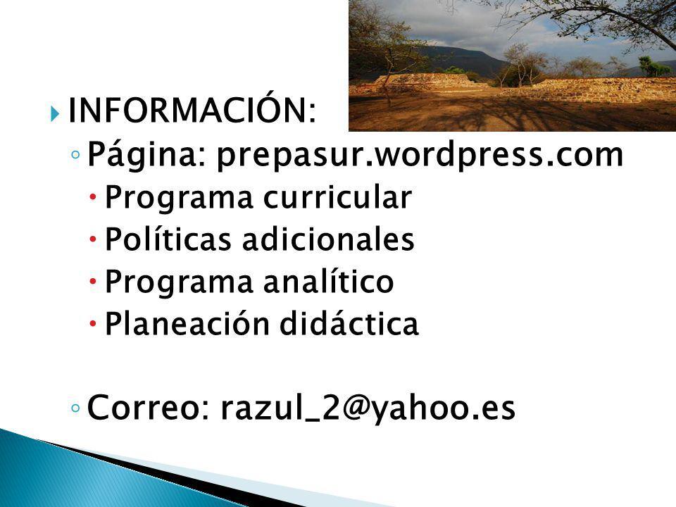 Página: prepasur.wordpress.com