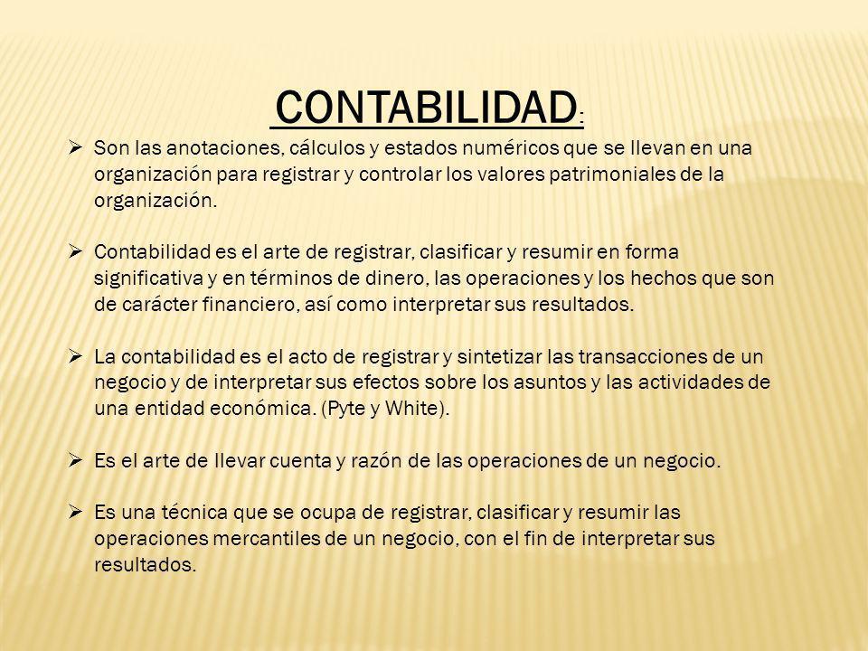 CONTABILIDAD: