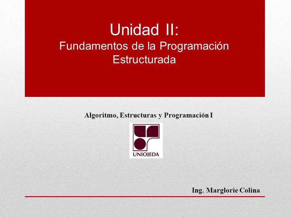 Fundamentos de la Programación Estructurada