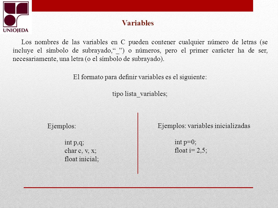 tipo lista_variables;