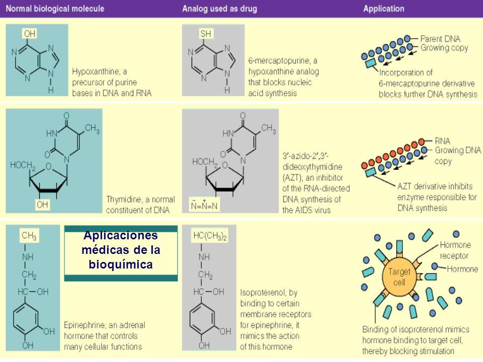 Aplicaciones médicas de la bioquímica