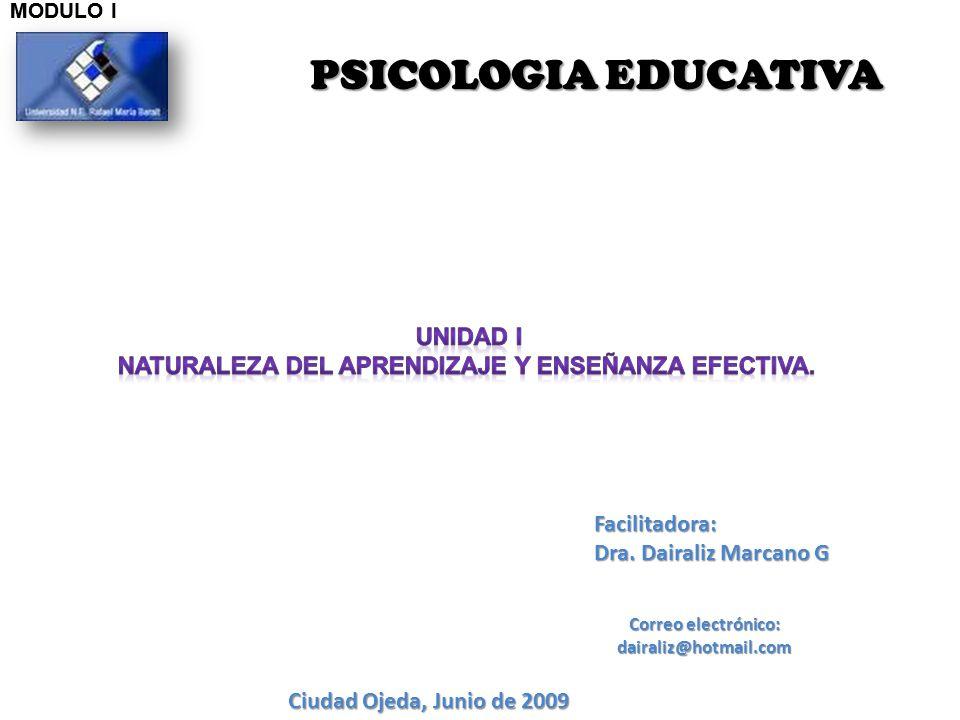 PSICOLOGIA EDUCATIVA Unidad i