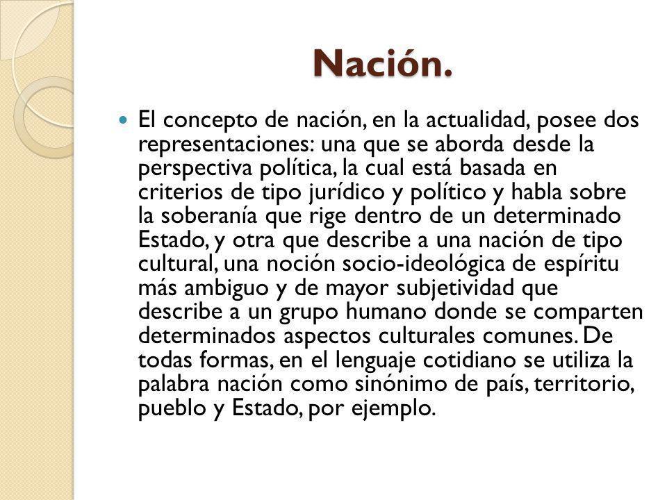 Nación.