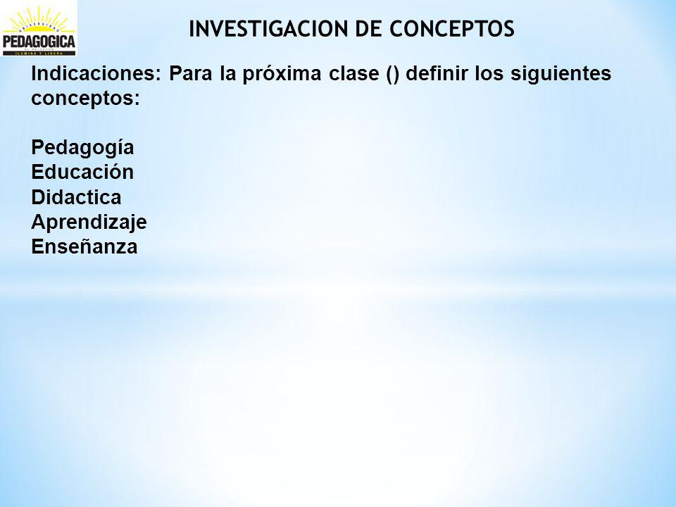 INVESTIGACION DE CONCEPTOS