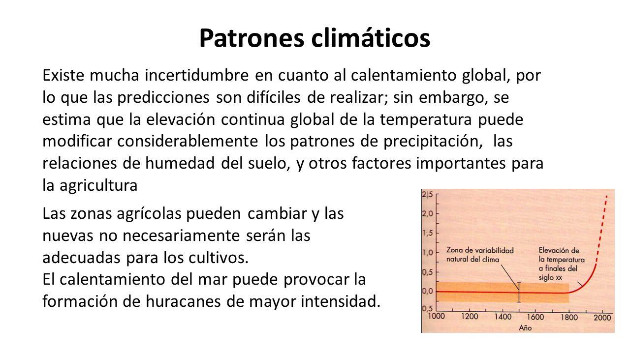 Patrones climáticos