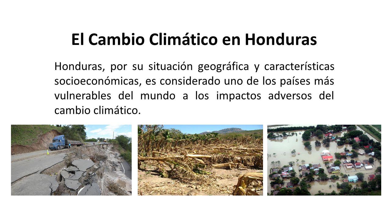 El Cambio Climático en Honduras