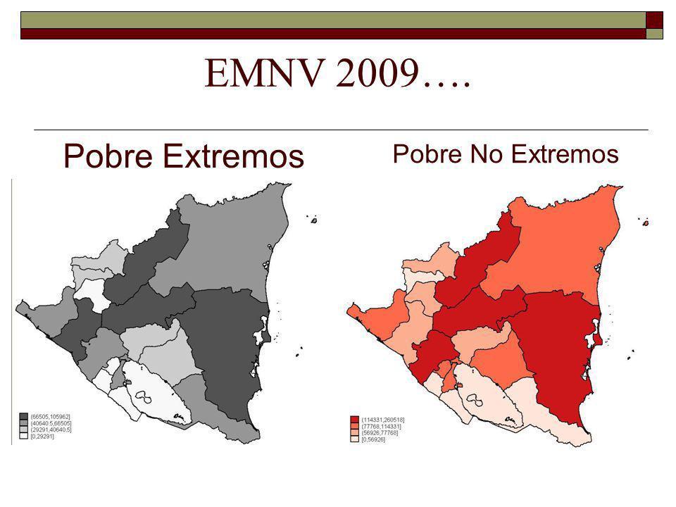 EMNV 2009…. Pobre Extremos Pobre No Extremos