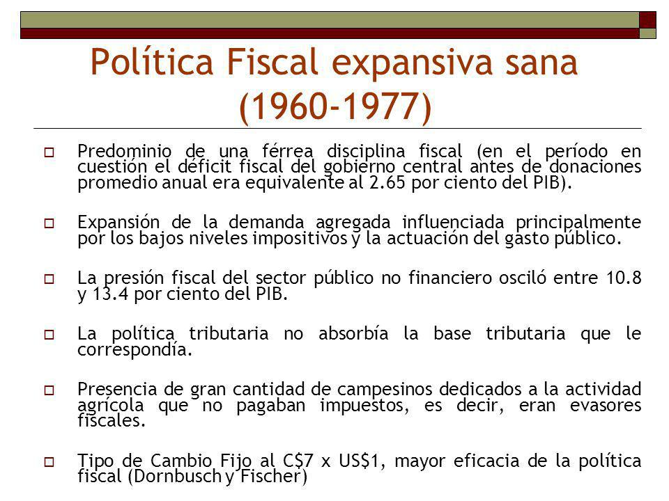 Política Fiscal expansiva sana