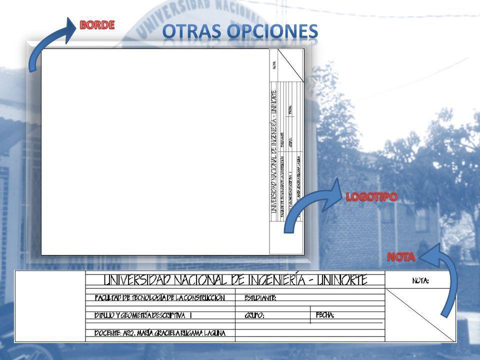 OTRAS OPCIONES BORDE LOGOTIPO NOTA