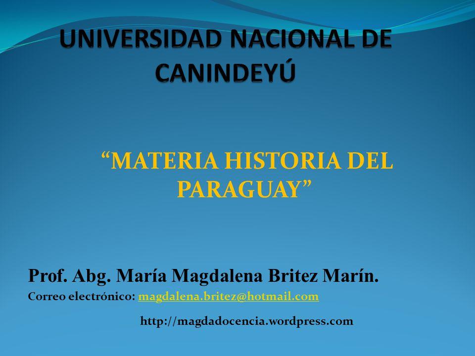 UNIVERSIDAD NACIONAL DE CANINDEYÚ