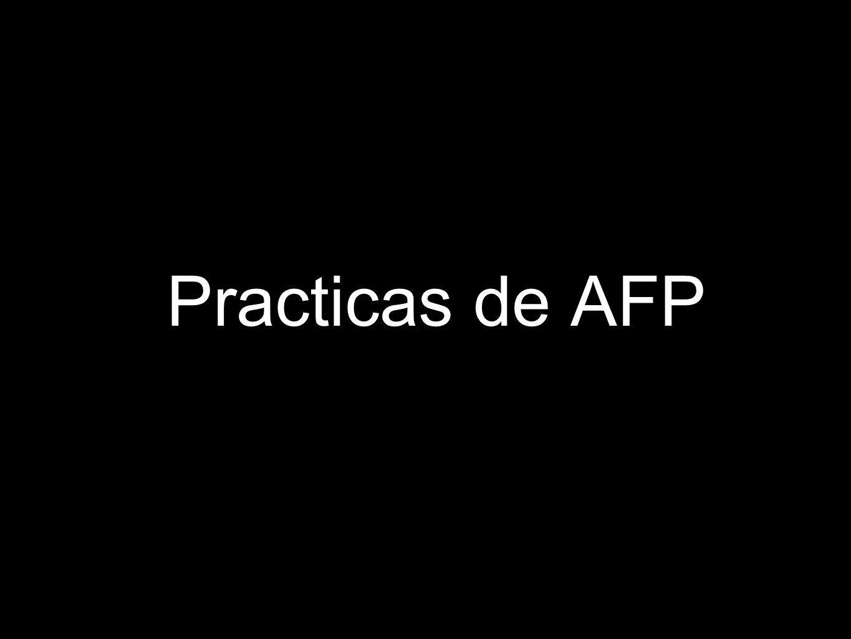 Practicas de AFP