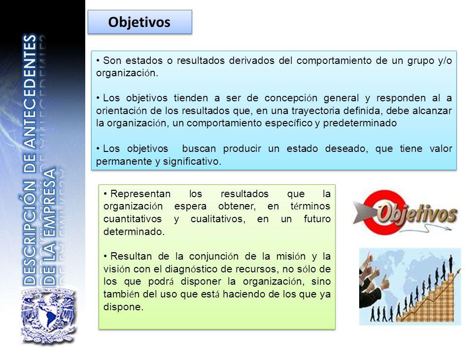 DESCRIPCIÓN DE ANTECEDENTES DE LA EMPRESA