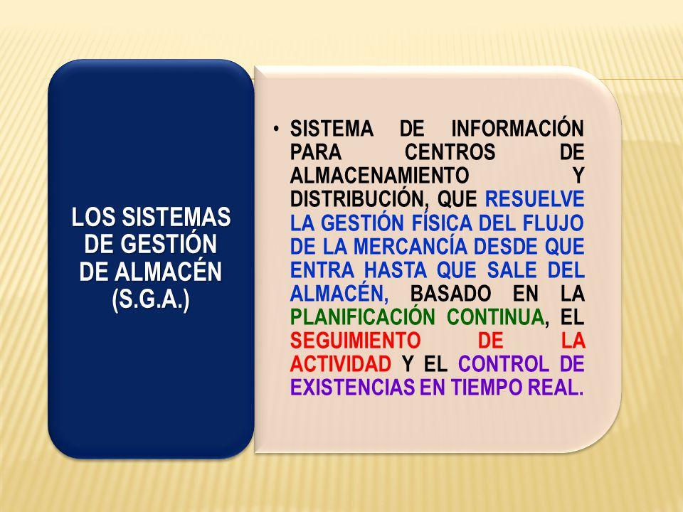 LOS SISTEMAS DE GESTIÓN DE ALMACÉN (S.G.A.)