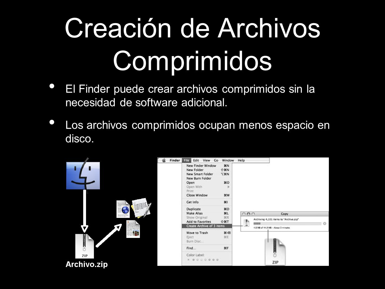 Creación de Archivos Comprimidos