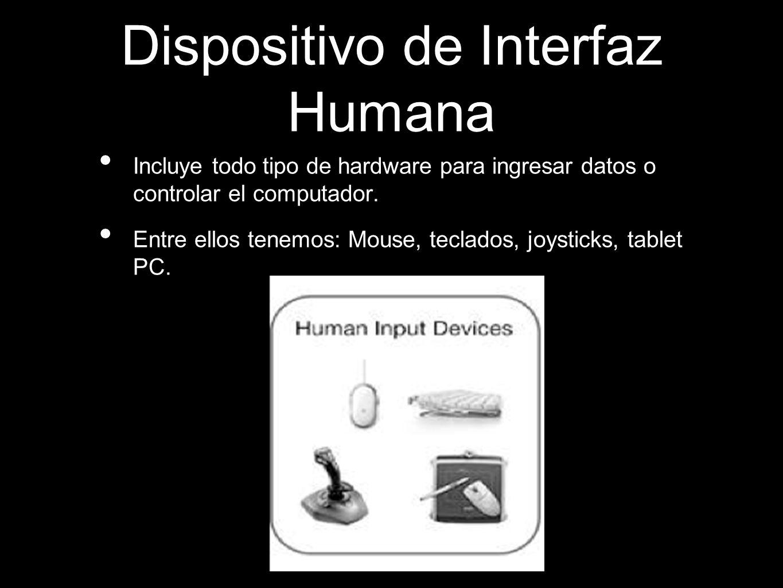 Dispositivo de Interfaz Humana