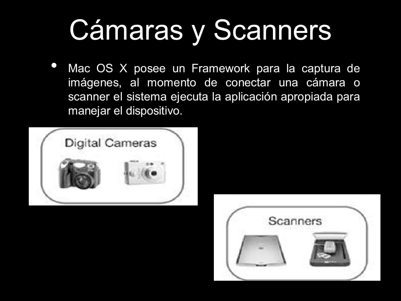 Cámaras y Scanners