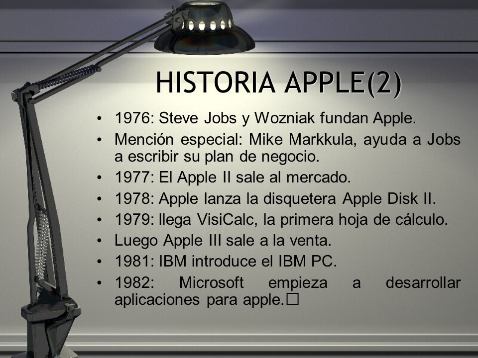 HISTORIA APPLE(2) 1976: Steve Jobs y Wozniak fundan Apple.