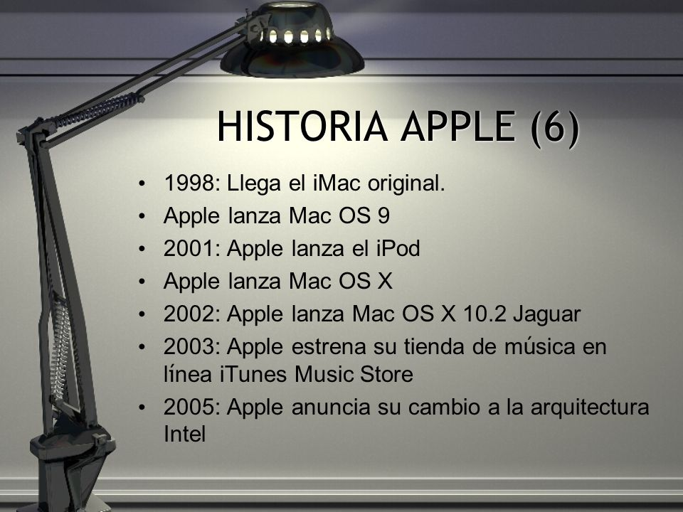 HISTORIA APPLE (6) 1998: Llega el iMac original. Apple lanza Mac OS 9