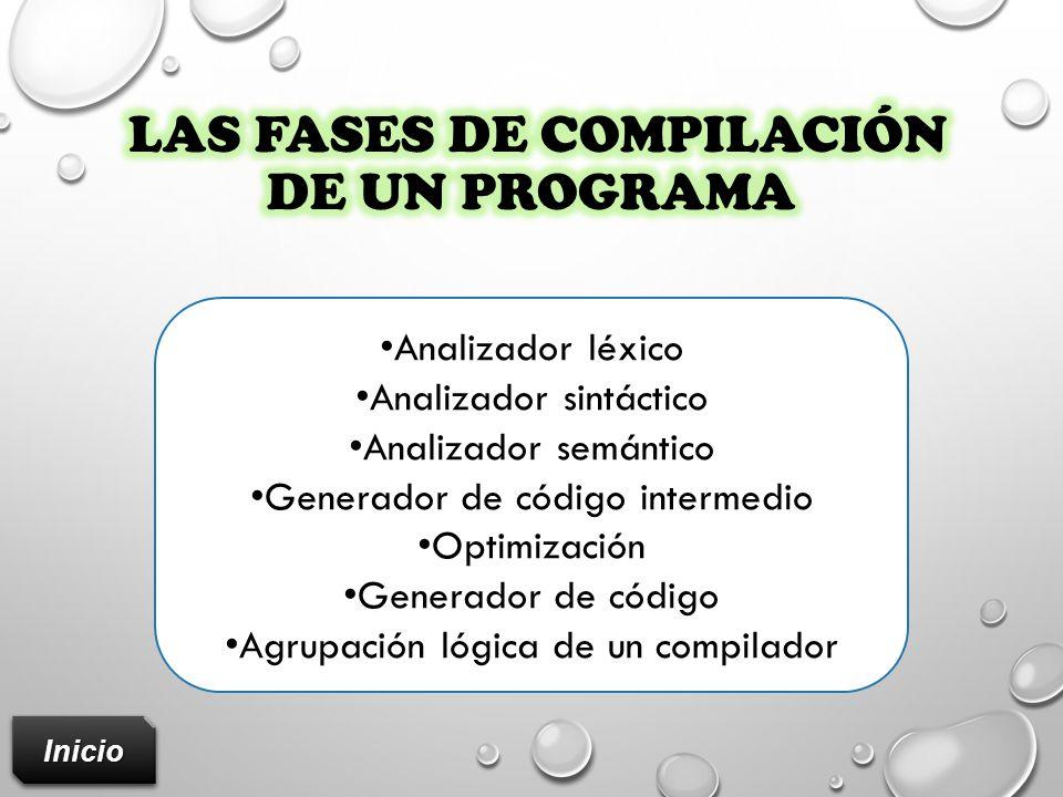 las fases de compilación de un programa